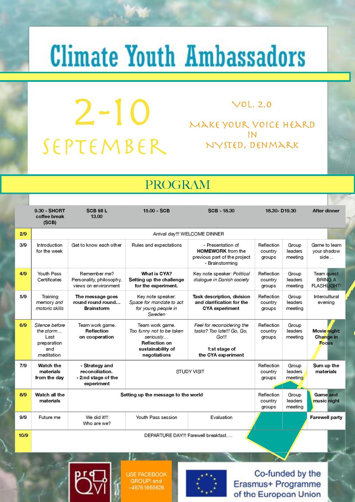 Climate YA poster PROGRAM Denmark
